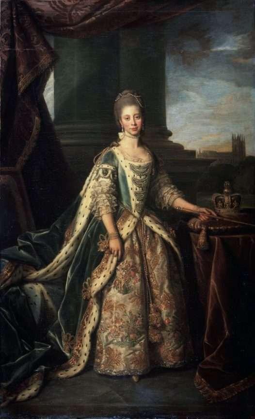 ritratto regina charlotte