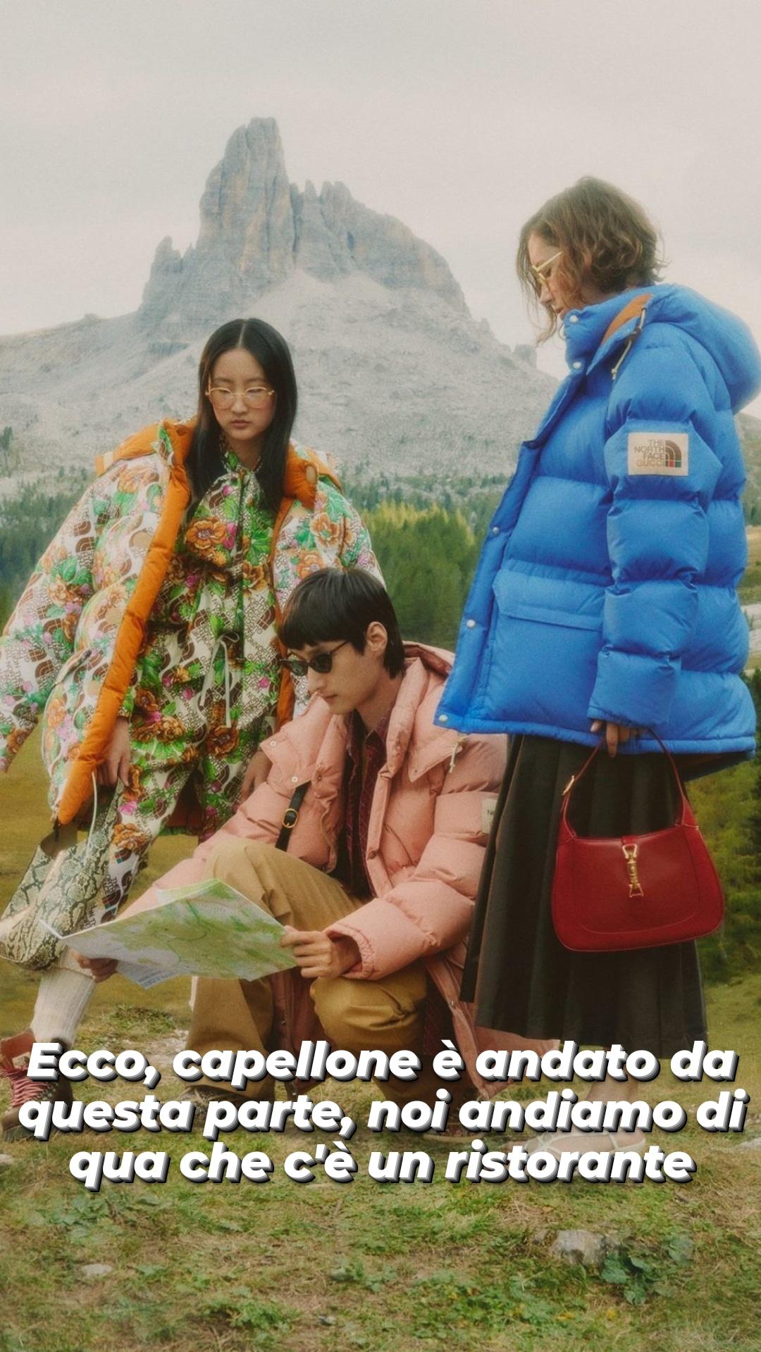 North Face x Gucci