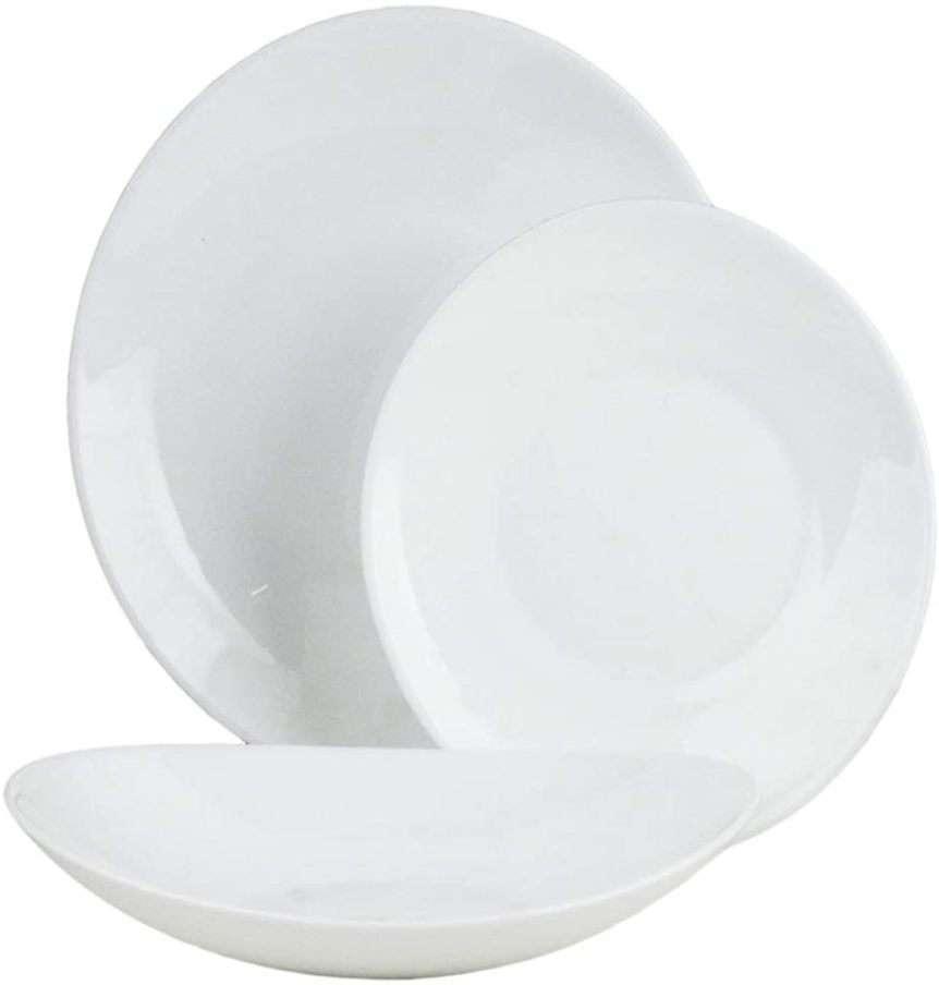 piatti bianchi per la cucina