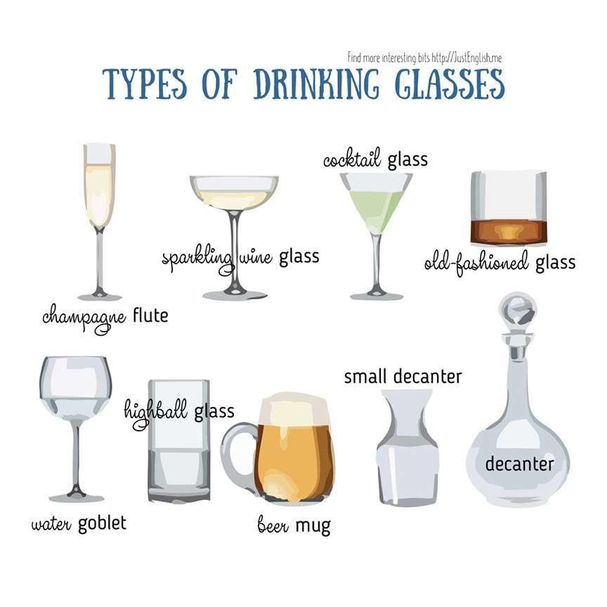i bicchieri per i cocktail
