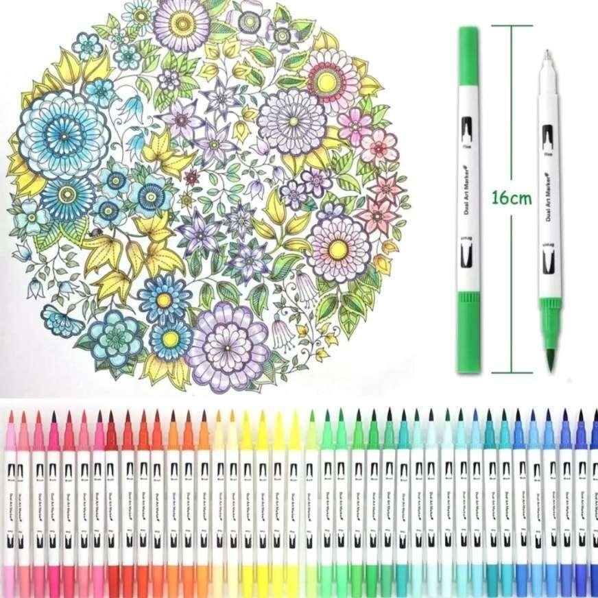 pennarelli per colorare mandala