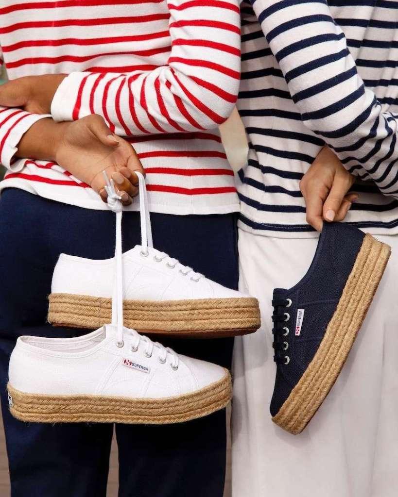 scarpe in corda