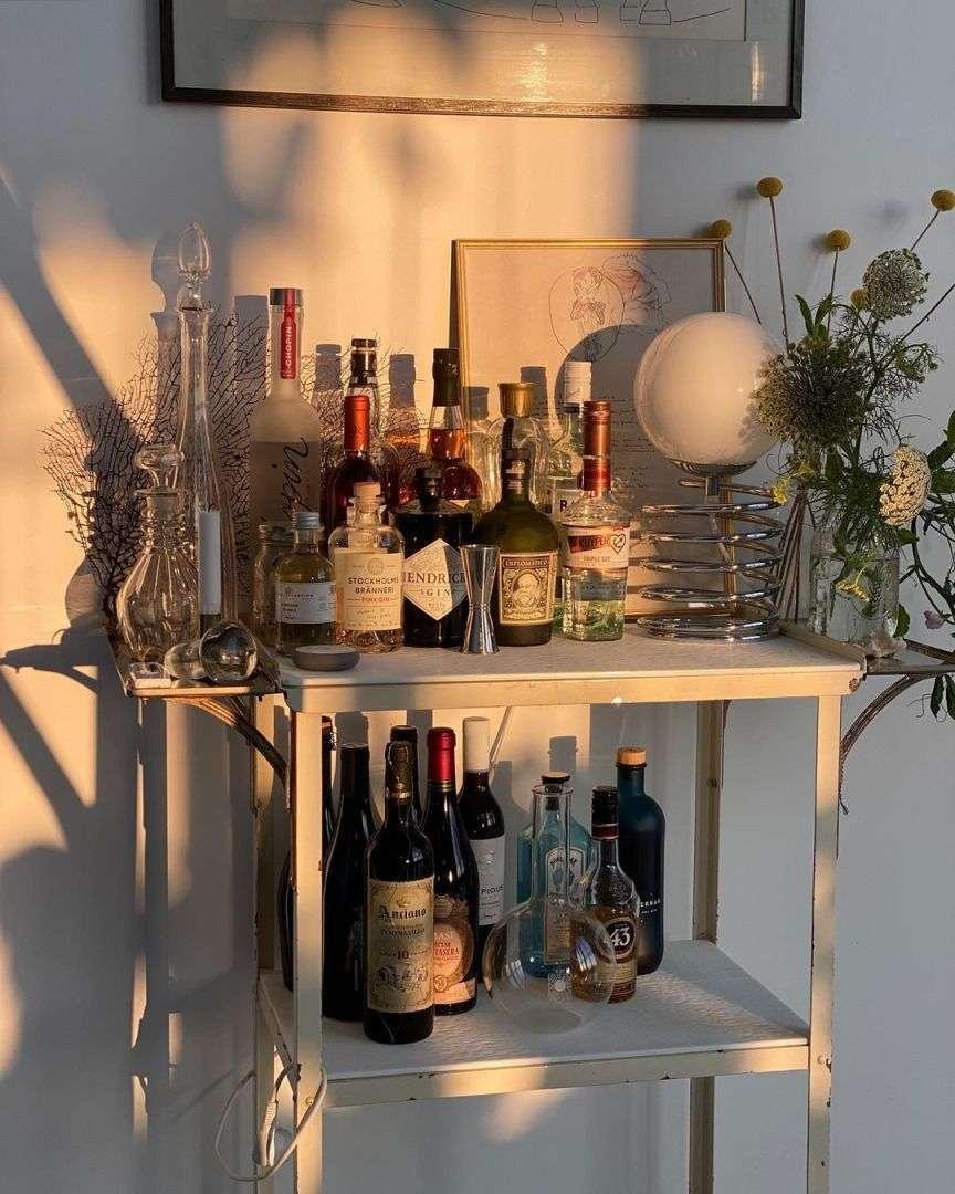 decorare con le bottiglie
