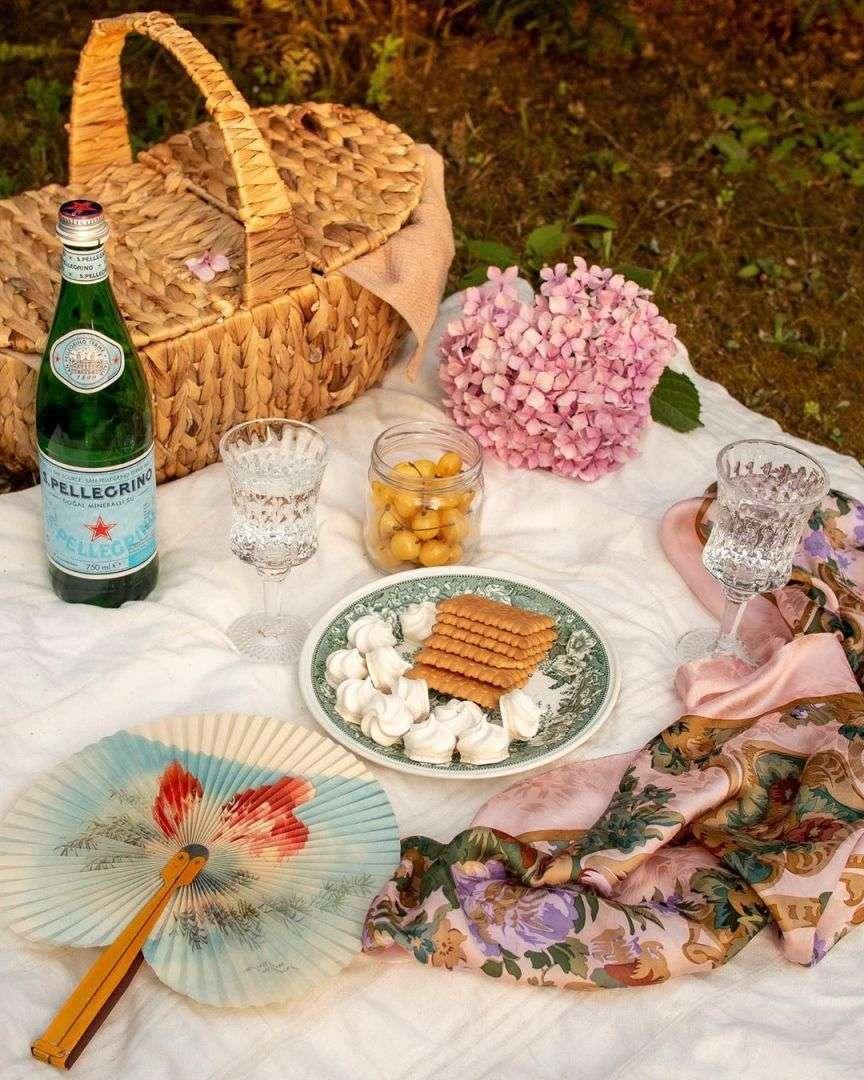 oggetti di scena per il picnic bello