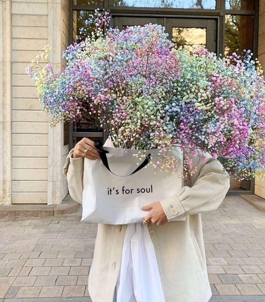 velo da sposa fiori colorati