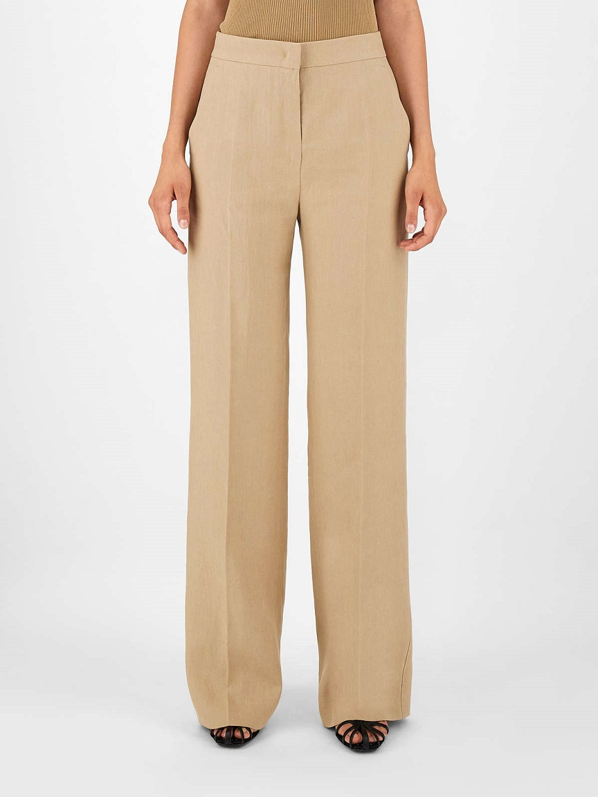 pantalone ecrù