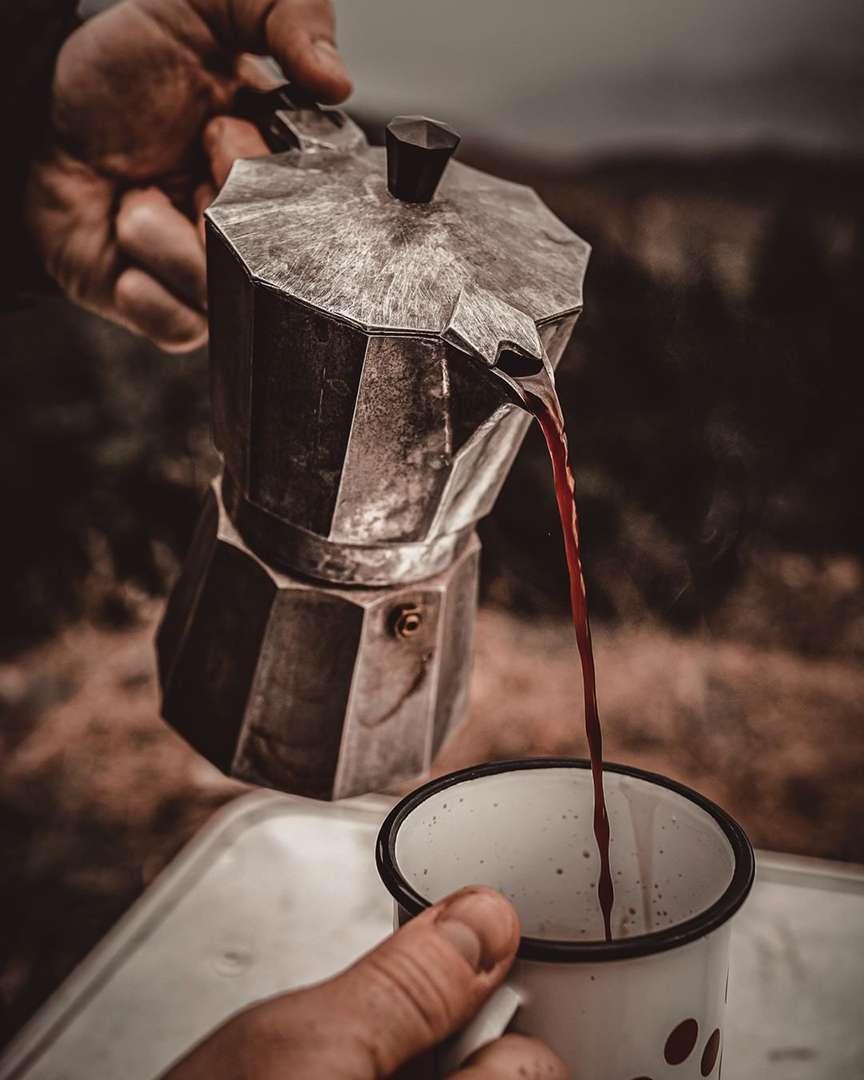 caffè buono dalla moka