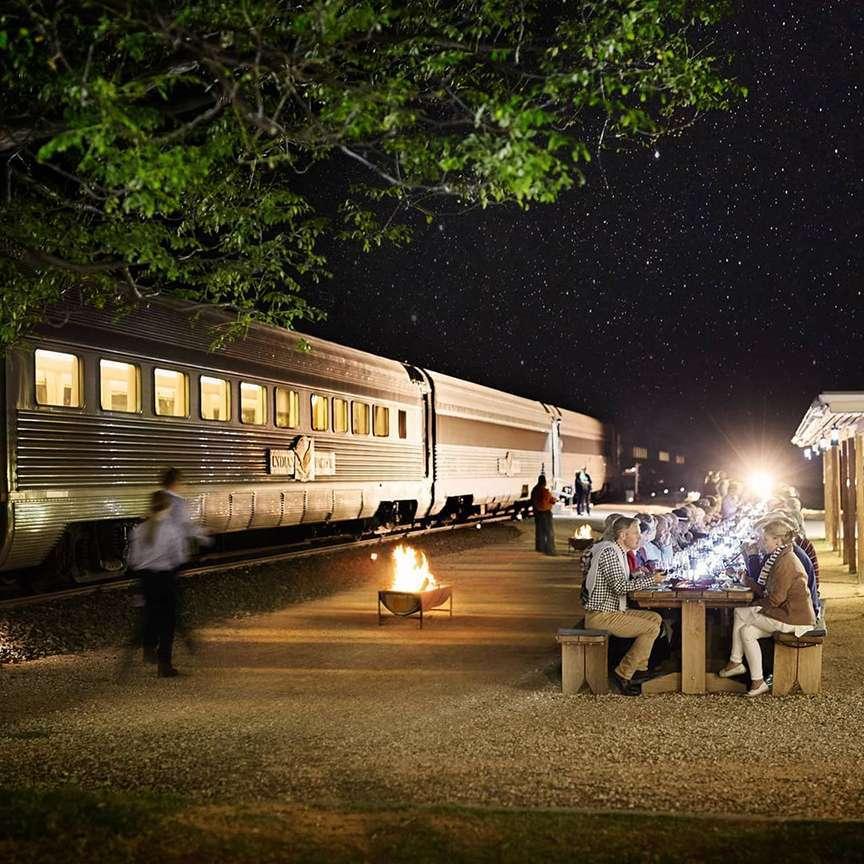 Cena e treni di lusso