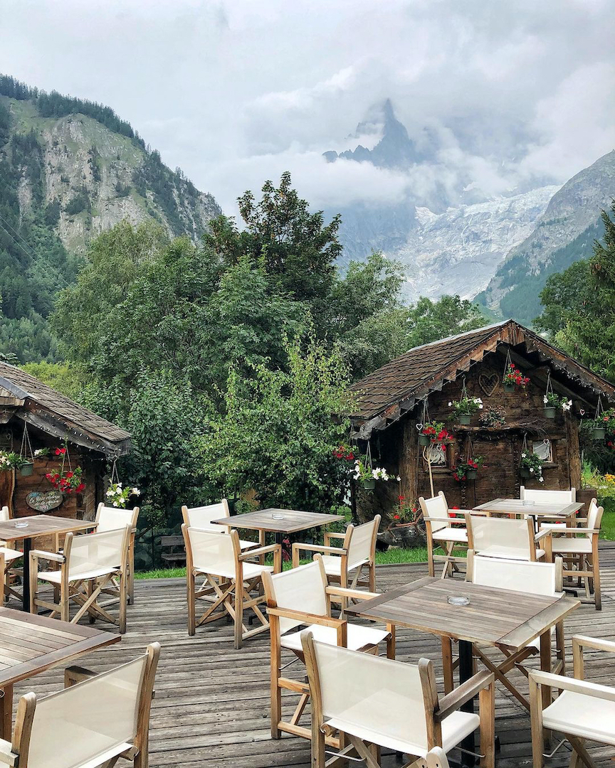 albergo di lusso montagna