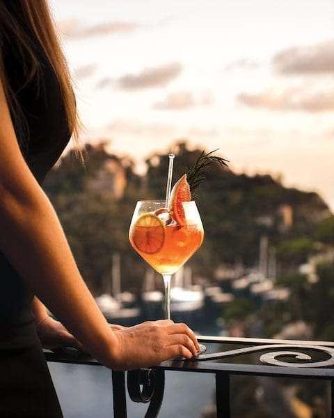 aperitivo in terrazza