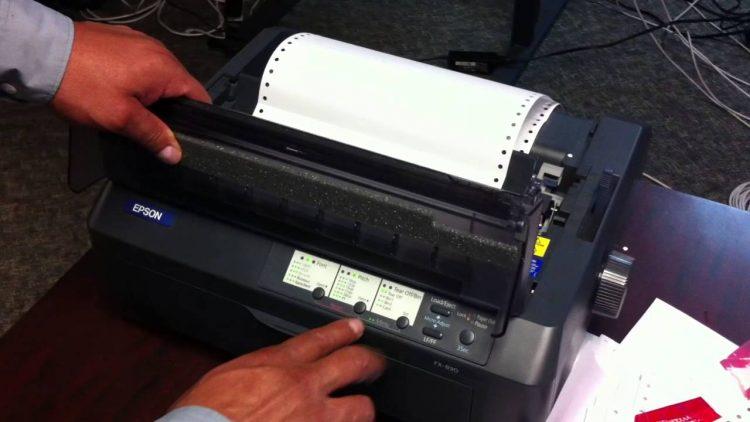 Fallo de impresoras LX-300 / FX890 / LX-350
