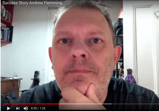 Personal Training Testimonial Andrew Flemming