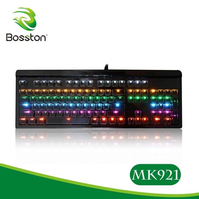 Keyboard cơ Bosston MK-921 Led Gaming chính hãng