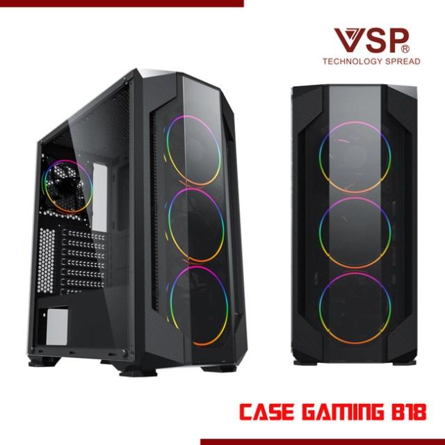 Vỏ thùng Case VSP B18 Gaming chính hãng