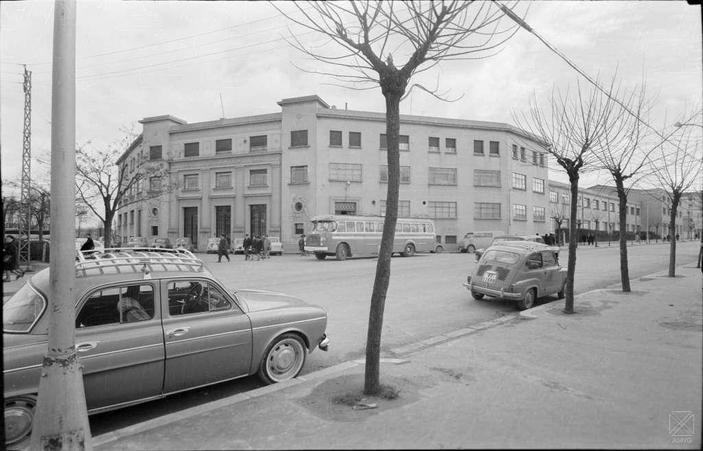 Fábrica de naipes en calle Heraclio Fournier, 1965
