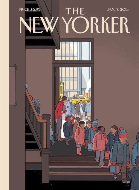 Chris Ware e a escola Sandy Hook