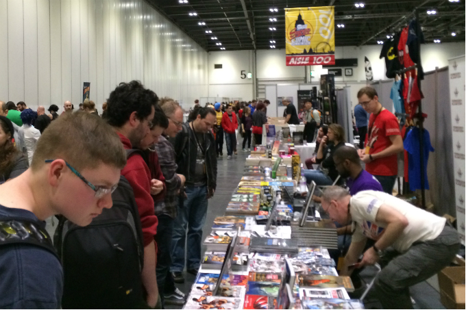 Vitralizado na London Super Comic Convention 2014 – Dia 1
