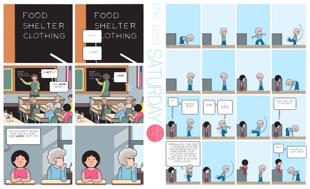 The Last Saturday: a HQ do Chris Ware pro Guardian – Parte #6