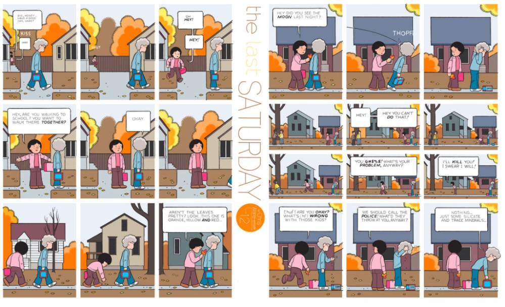 The Last Saturday: a HQ do Chris Ware pro Guardian – Parte #13