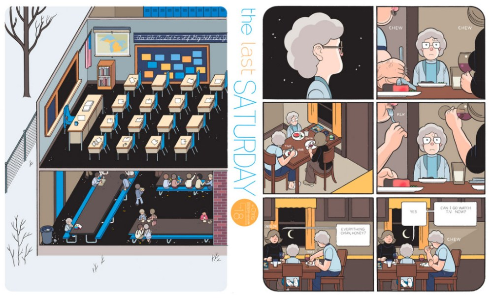 The Last Saturday: a HQ do Chris Ware pro Guardian – Parte #19
