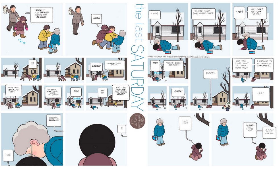 The Last Saturday: a HQ do Chris Ware pro Guardian – Partes #28 e #29