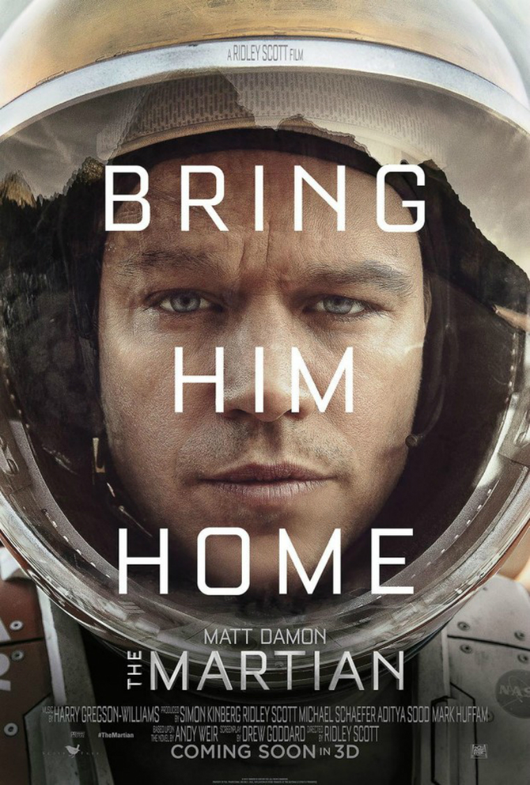 The Martian: o pôster e o primeiro trailer do filme de Ridley Scott