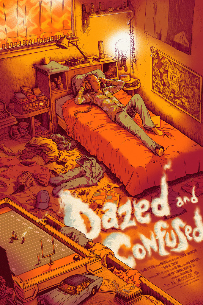 Dazed and Confused, por James Flames