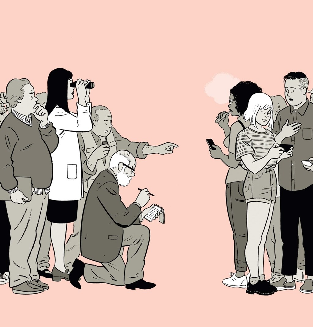 Where Millennials Come From, por Adrian Tomine