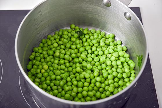 Supa rece de mazare