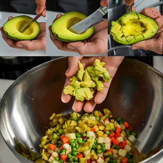 Salata de legume cu avocado