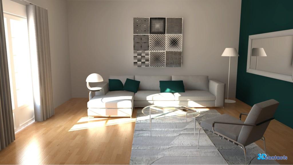 3d Contacts Exemples Dintrieur En Home Staging