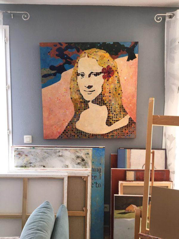 The face of a Tahitian Mona Lisa