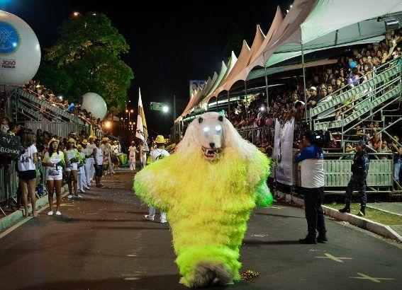 Desfile de Ala Ursas encerra Carnaval Tradição de João Pessoa