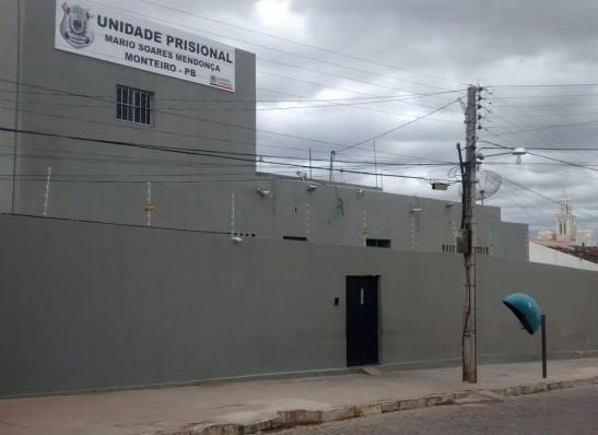 Briga entre dois presos gera tumulto na Cadeia Pública de Monteiro