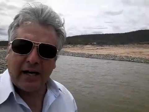 Vereador Cajó Menezes enaltece retorno das águas da transposição em Monteiro