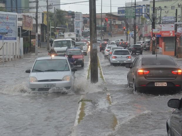 127 cidades da PB estão em alerta para perigo potencial de chuvas