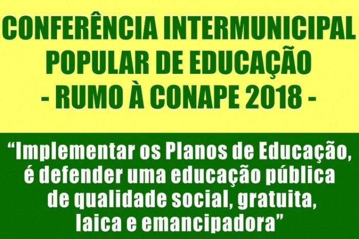 Monteiro sediará Conferência Intermunicipal Popular de Educação nesta sexta