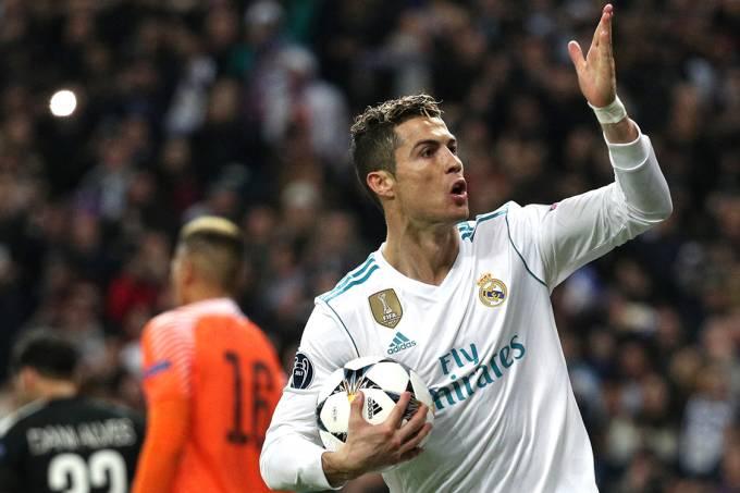Liga dos Campeões: Cristiano Ronaldo brilha e Real vence o PSG