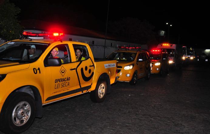'Lei Seca' flagra 63 motoristas dirigindo sob efeito de álcool