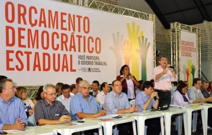 Taperoá e Sumé sediarão plenárias do Orçamento Democrático Estadual em março