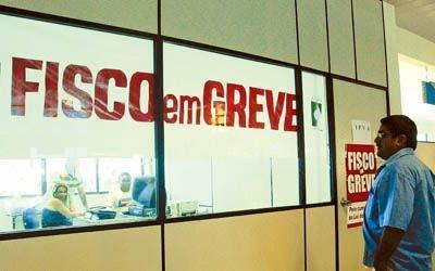 Auditores fiscais entram em greve por tempo indeterminado