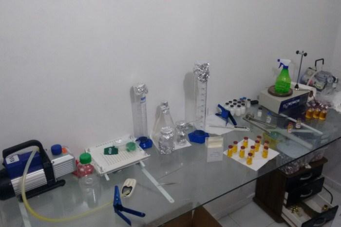 Grupo é preso em laboratório clandestino de anabolizantes