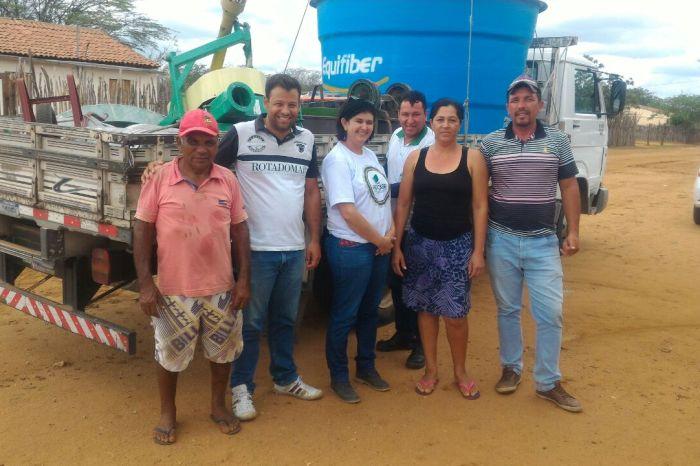 Procase e Prefeitura de Sumé entregam mais equipamentos no Assentamento Mandacaru