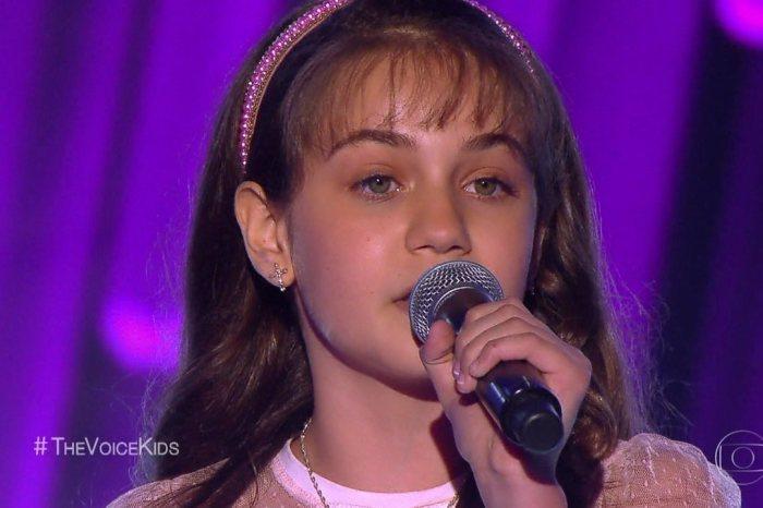 Paraibana alcança 45% dos votos e segue no The Voice Kids