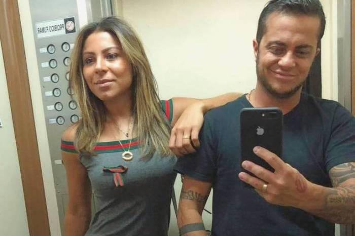 'Só volto pai', diz Thammy Miranda ao embarcar para os EUA