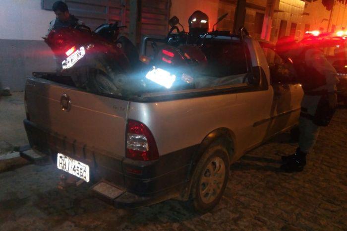 Polícia age rápido e recupera carro tomado por assalto em cidade do Cariri