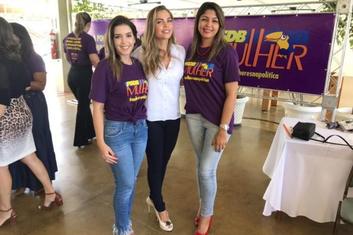 Prefeita de Monteiro participa de evento promovido pelo PSDB Mulher em JP