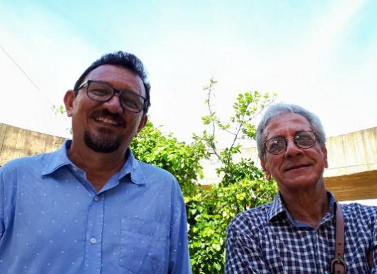 Poetas Eugenio e o monteirense Zelito Nunes apresentam espetáculo Humor na Feira