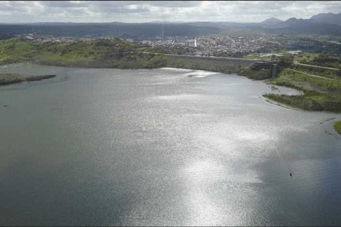Açude de Boqueirão sobe 21 centímetros de lâmina d'água após chuvas do final de semana