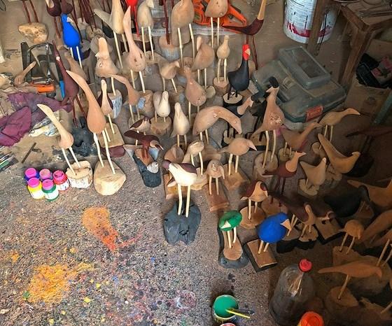 Sumeense tem seu trabalho de artesanato reconhecido por caçador de talentos de SP